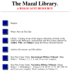 The Mazal Library